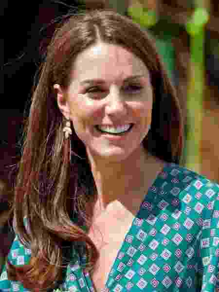 Kate Middleton com brinco da Accessorize -  Max Mumby/Indigo/Getty Images