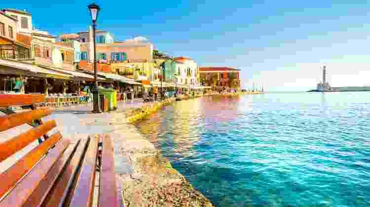 Elafonisi pode ser visitada a partir da cidade de Chania, na ilha de Creta - Aleh Varanishcha/Getty Images/iStockphoto