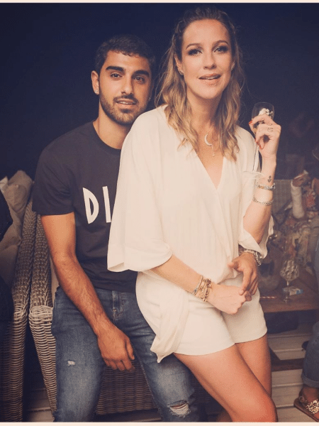 Luana Piovani e o namorado, Ofek Malka - Reprodução/Instagram
