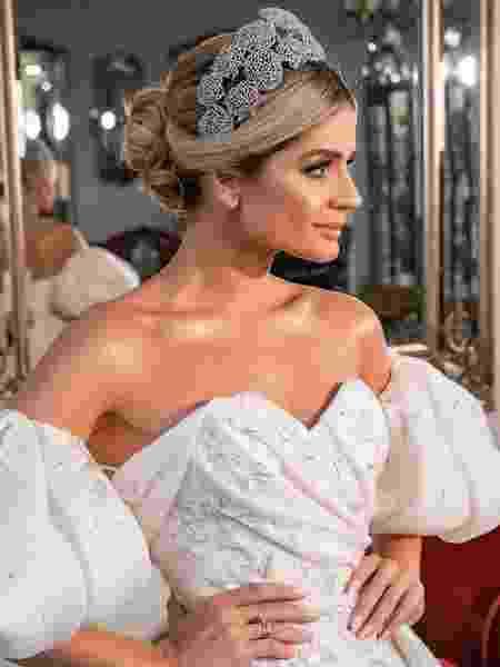 Vestido de noiva de Thássia Naves - Ricky Arruda/Divulgação