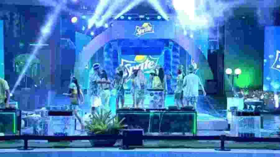 BBB 20: Festa de carnaval - Reprodução/Globoplay