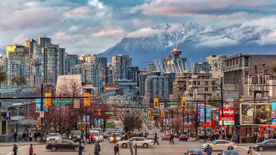 Vancouver: O Canadá tem diversas cidades ótimas para estudantes - Getty Images/iStockphoto