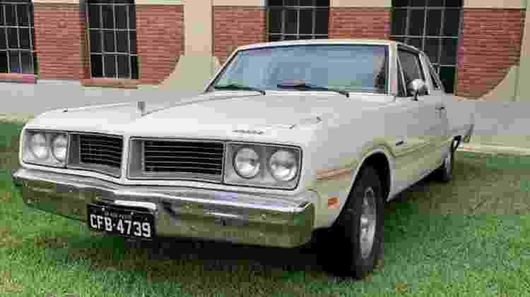 Dodge Magnum 1979 Raul Seixas Alexandre Badolato coleção restaurado dianteira - Arquivo pessoal - Arquivo pessoal