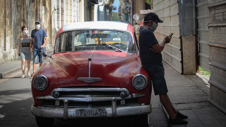 Cuba registrou hoje 9.279 novos casos de covid-19, chegando a um total de 403.622 diagnósticos positivos desde o início da pandemia - Getty Images