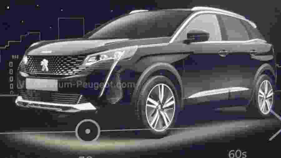Novo Peugeot 3008 vaza - Reprodução