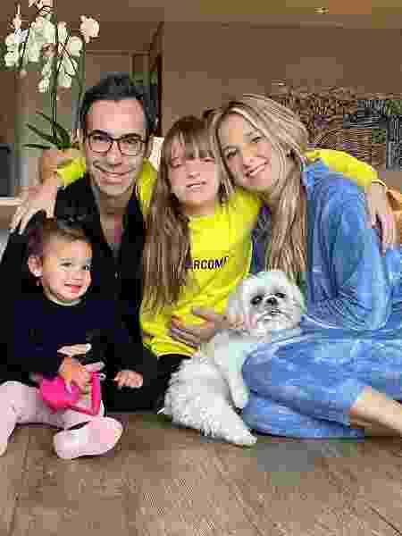 Rafaella, Cesar Tralli, Rafaella Justus e Ticiane Pinheiro: domingo em família - Reprodução/Instagram