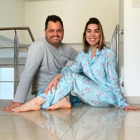 Naiara Azevedo com o marido, Rafael Cabral - Reprodução/Instagram @naiaraazevedo