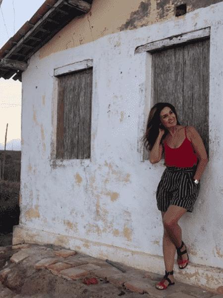 """Fátima Bernardes compartilhou ensaio feito pelo namorado em seu """"dia de modelo"""" - Reprodução/Instagram/@fatimabernardes"""