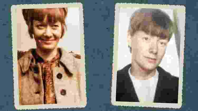 Pat quando era jovem - Arquivo pessoal / BECKY ELLIS HAMILTON - Arquivo pessoal / BECKY ELLIS HAMILTON