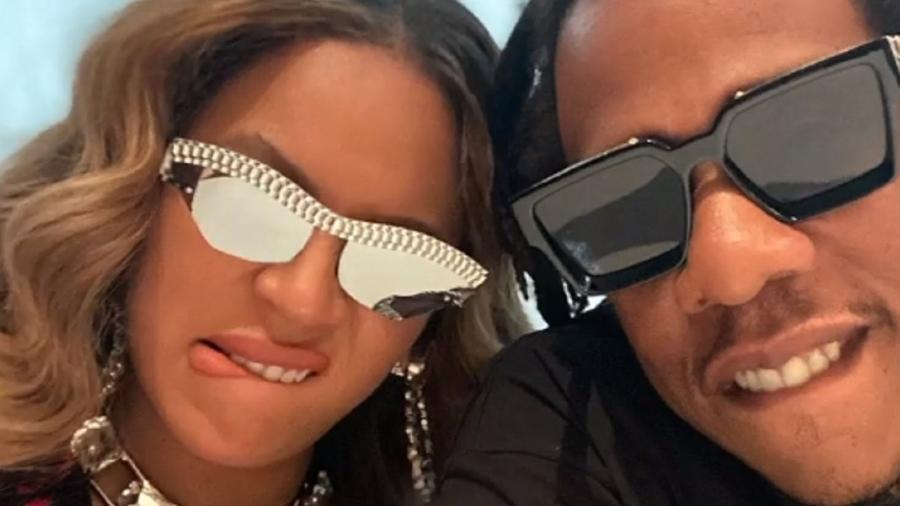 Beyoncé e Jay-Z em nova selfie - Reprodução/Instagram