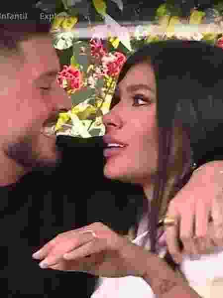 BBB 21: Pocah é pedida em casamento no programa de Ana Maria Braga - Reprodução/TV Globo - Reprodução/TV Globo