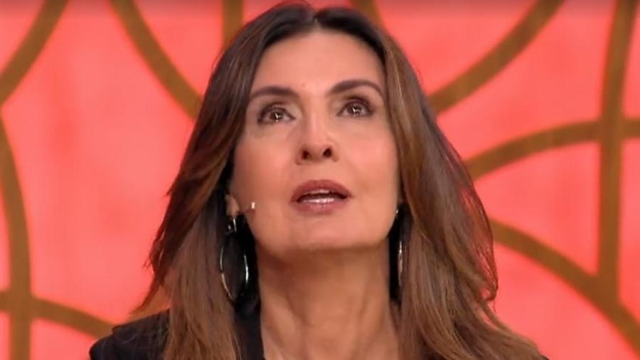 Fátima Bernardes chora ao falar de Paulo Gustavo - Reprodução/TV Globo