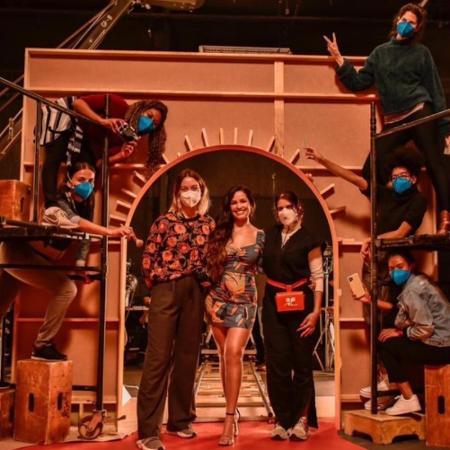 Juliette mostra bastidores de ensaio de live com Elba Ramalho - Reprodução/Instagram