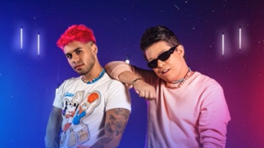 """Zé Felipe e DJ Ivis gravaram música """"Galega""""; Som Livre não deve lançar nova versão - Reprodução/YouTube"""