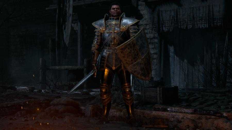 Paladino, uma das novas classes de Diablo II Resurrected - Divulgação/Blizzard