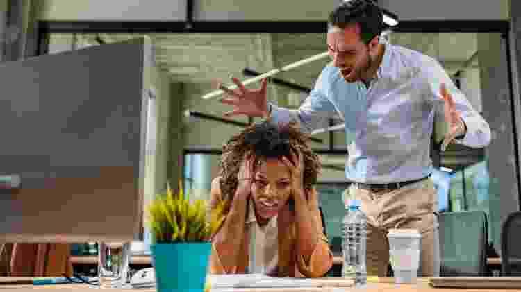 """A """"demissão por raiva"""" geralmente é o ápice de uma série de tensões e não uma explosão isolada - iStock - iStock"""