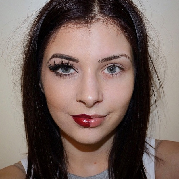 O movimento ganhou força no Instagram nas últimas semanas porque muitas garotas recebem críticas por gostarem de se maquiar