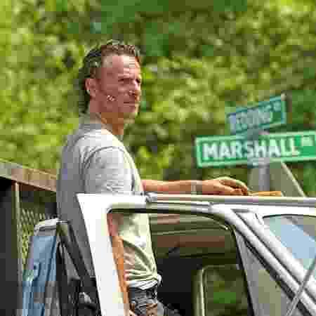 "Rick Grimes (Andrew Lincoln) em ""The Walking Dead"" - Divulgação/AMC"