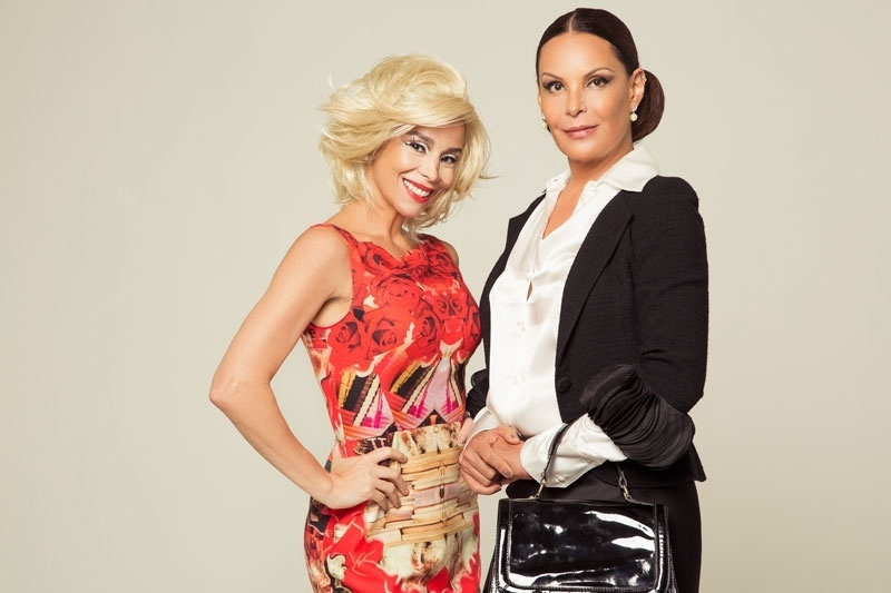 Danielle Winits e Carolina Ferraz estrelam a peça