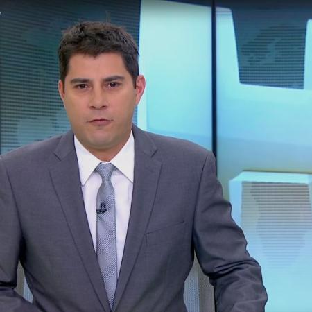 """Evaristo Costa não apresentou o """"Jornal Hoje"""" desta segunda-feira  - Reprodução/TV Globo"""