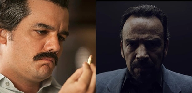 """Wagner Moura dará lugar a Damian Alcazar na terceira temporada de """"Narcos"""" - Divulgação/Netflix e Montagem/UOL"""