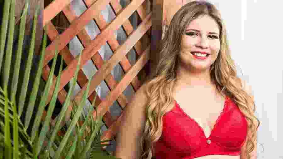 Marília é a nova musa da marca de lingerie Nayane Rodrigues - Divulgação