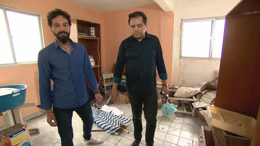 """Filho de Reginaldo Rossi conversa com Geraldo Luís no """"Domingo Show"""" - Reprodução"""