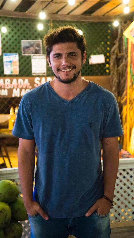 Bruno Gissoni será Dedeco - Cesar Alves/TV Globo