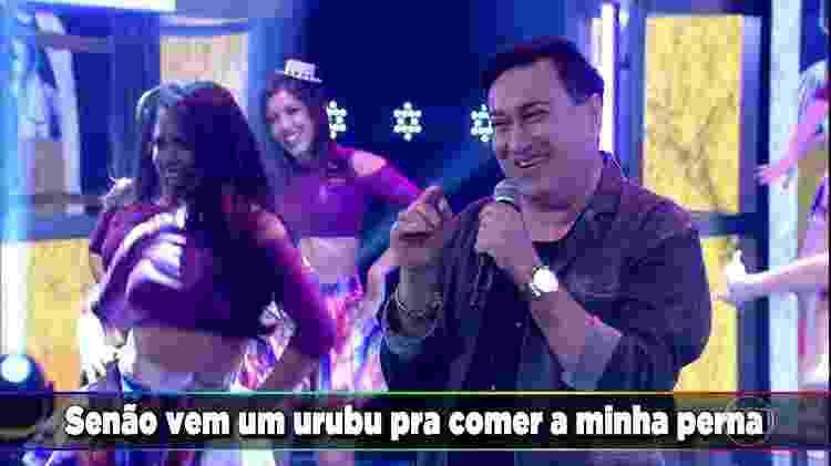 Sandro Becker - Reprodução/TV Globo - Reprodução/TV Globo
