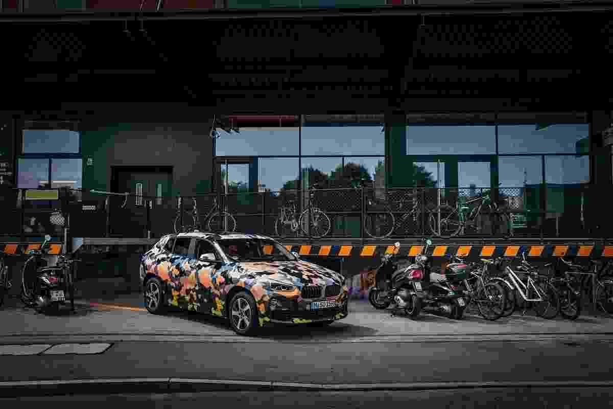 BMW X2 camuflado - BMW/Highsnobiety.com/Divulgação