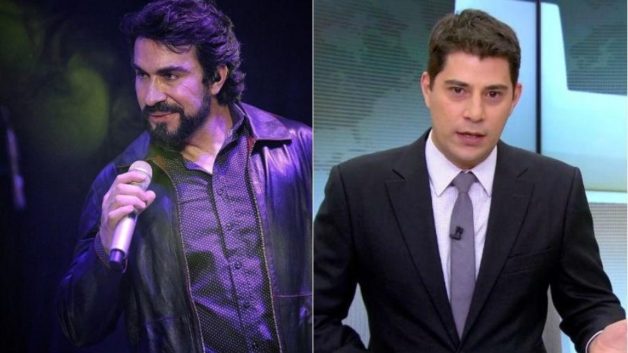 Padre Fábio de Melo e Evaristo Costa: queridinhos da web - Reprodução/Instagram
