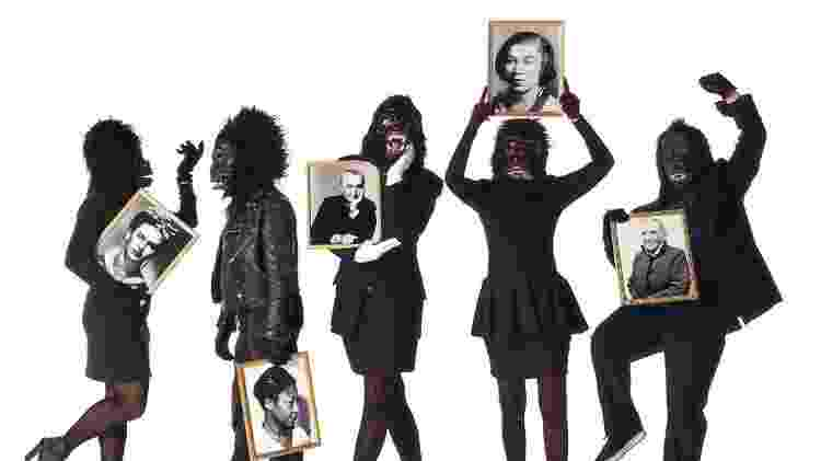 Guerrila Girls - Guerrilla Girls/	Lois Greenfield - Guerrilla Girls/	Lois Greenfield