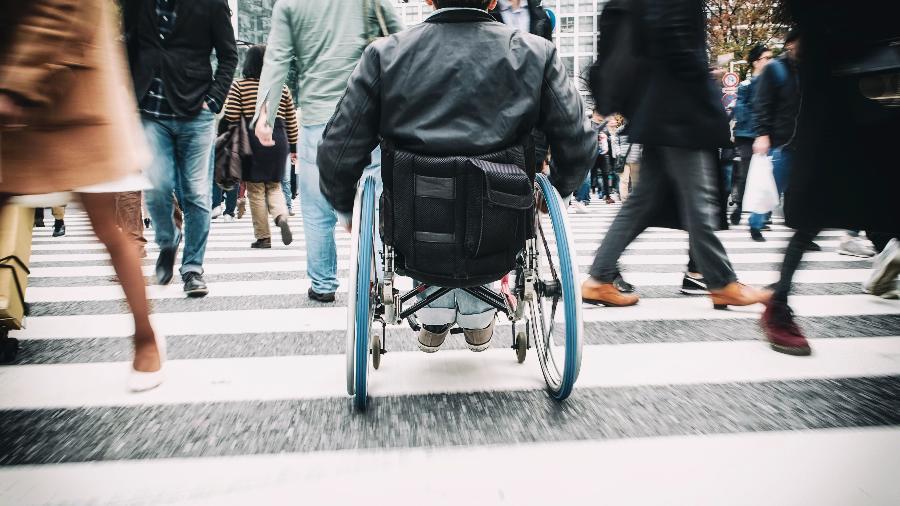 No Brasil, segundo dados de 2015, 6,5% da população tem algum tipo de deficiência - Getty Images