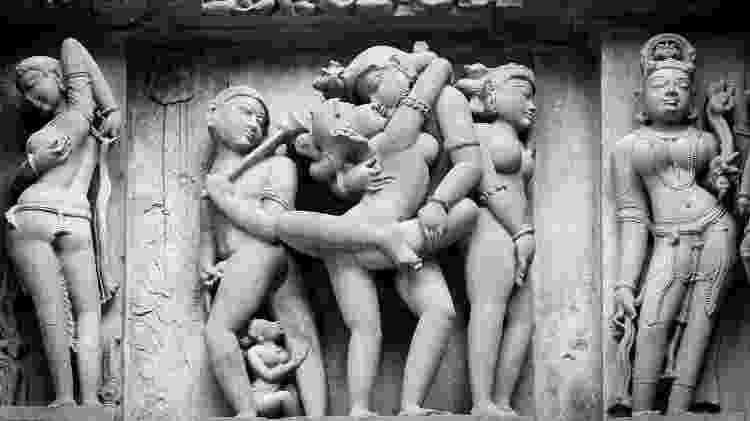 Expressões de sensualidade que floresceram na Índia seriam impossíveis em outras culturas, inclusive nos nossos dias - Getty Images - Getty Images