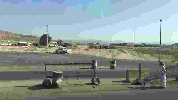 As barreiras do Exército são mais comuns nas estradas ao sul do Nilo e na península do Sinai - Ricardo Ribeiro/Colaboração para o UOL