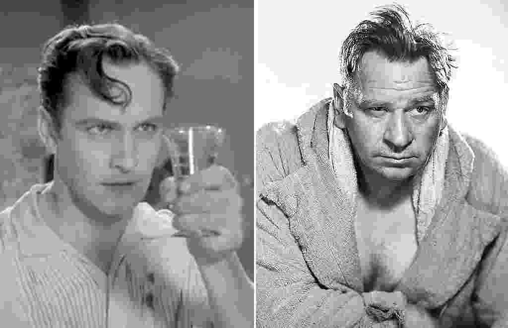 """À esquerda, Fredric March em cena em """"O Médico e o Monstro"""" (1931). À direita, Wallace Beery em cena em """"O Campeão"""" (1931) - Divulgação"""