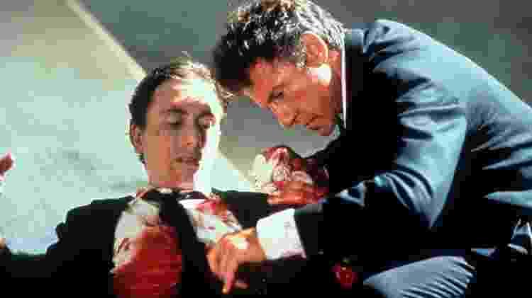 """Harvey Keitel e Tim Roth em cena de """"Cães de Aluguel"""" (1992) - Divulgação - Divulgação"""
