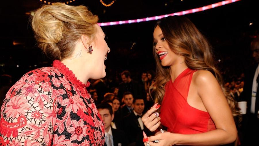Adele conversa com Rihanna: Crush é antigo! - Getty Images