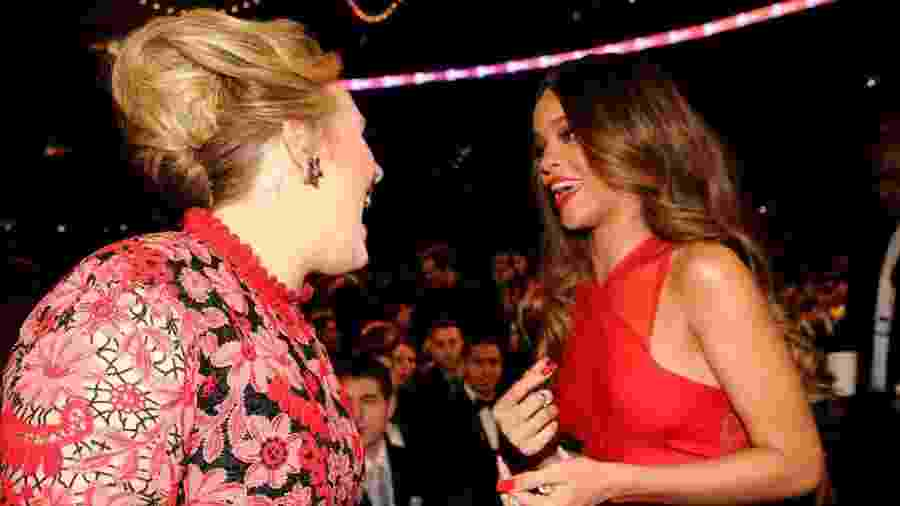Adele conversa com Rihanna: Crush é antigo! - Getty Images