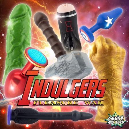 Brinquedos eróticos inspirados nos Vingadores - Divulgação