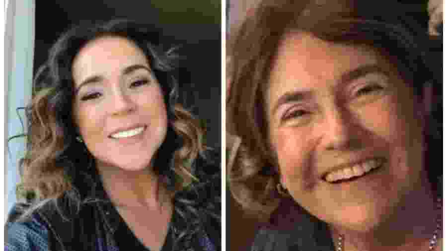 Daniela Mercury e a mãe,  Liliana - Reprodução/Instagram/danielamercury