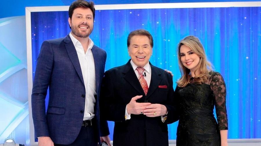 """Danilo Gentili e Rachel Sheherazade participam do """"Jogo das 3 Pistas"""" - Lourival Ribeiro/SBT"""