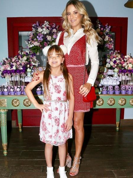 Ticiane posa ao lado da filha, Rafinha Justus - Manuela Scarpa/Brazil News
