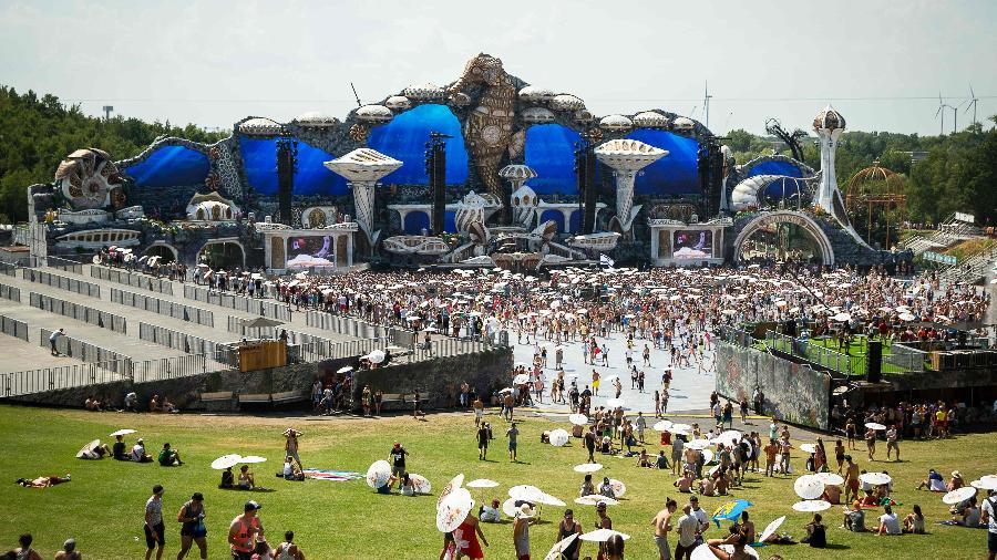 Festival Tomorrowland na Bélgica - James Arthur Gekiere/AFP Photo
