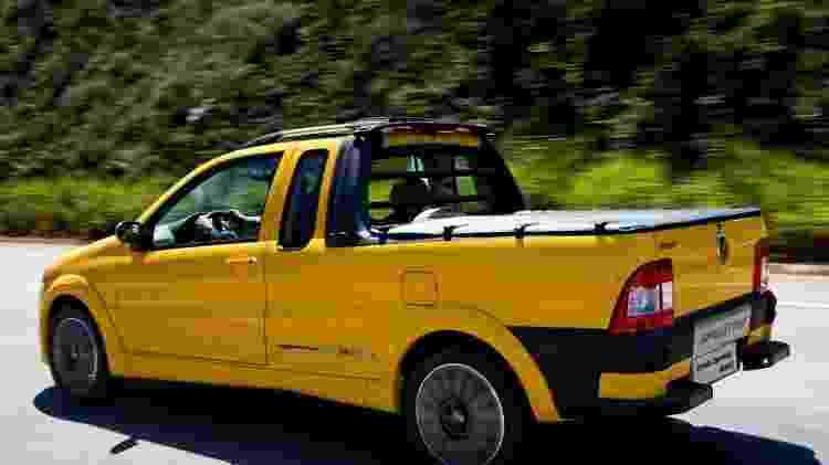 Fiat Strada Sporting 2 - Divulgação - Divulgação