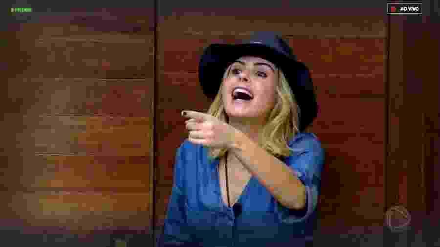 """Ana Paula Renault é uma das participantes de em """"A Fazenda 10"""" - Reprodução/RecordTV"""