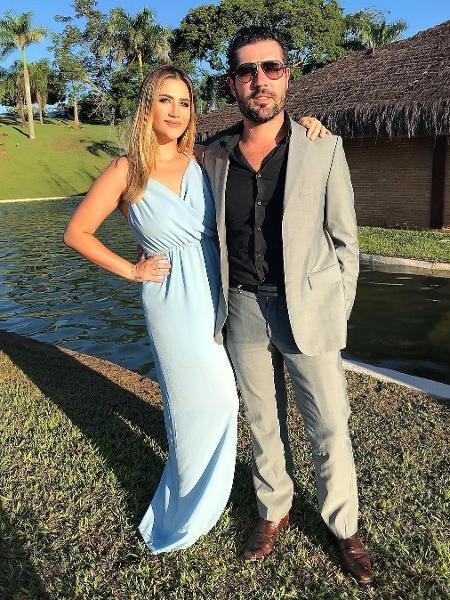 Jéssica Beatriz e Sandro Pedroso - Reprodução/Globo