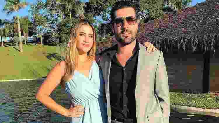 Jéssica Beatriz e Sandro Pedroso - Reprodução/Globo - Reprodução/Globo
