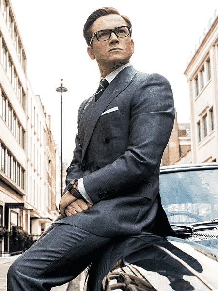 """Taron Egerton em cena de """"Kingsman: O Círculo Dourado"""" - Reprodução"""