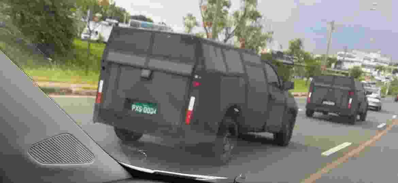 Flagra de nova geração Fiat Strada - Osvaldir Xavier Dias/UOL